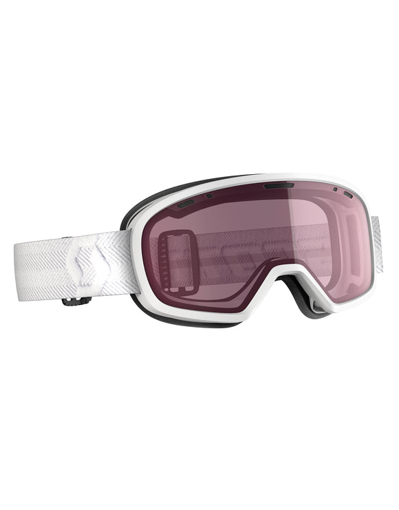 Scott Muse Ski Goggle - White with Light Amp Enhancer