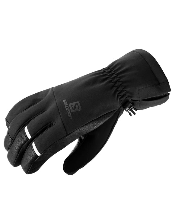 Salomon Mens Propeller Dry Ski Glove - Black