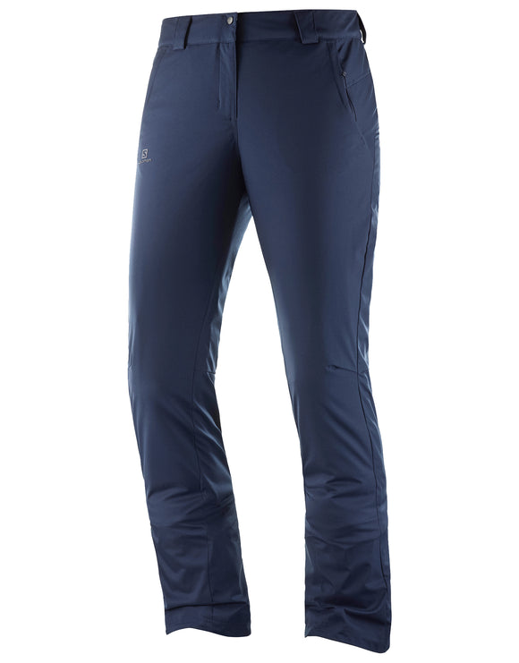 Salomon Womens Stormseason Ski Pant - Night Sky