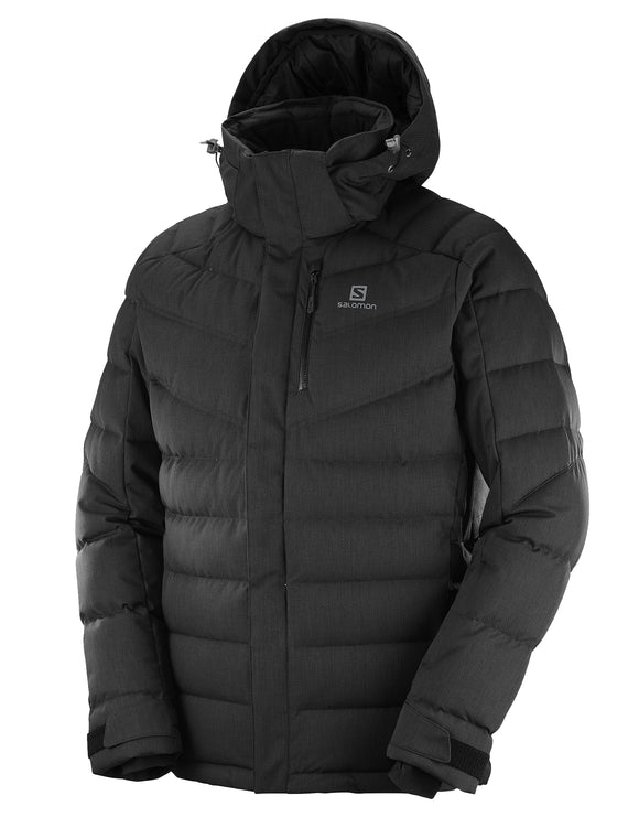 Salomon Mens Icetown Ski Jacket - Black