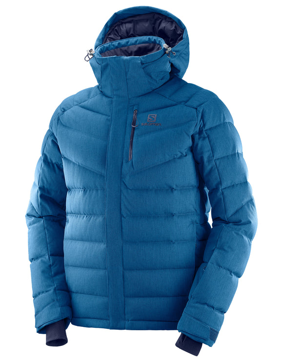 Salomon Mens Icetown Ski Jacket - Poseidon