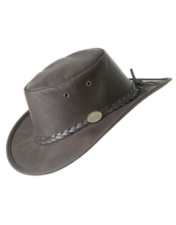 Barmah Sundowner Roo Hat - Dark Brown