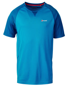 Berghaus Mens Tech Tee 2 SS Crew - Adriatic Blue