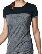 Berghaus Womens Voyager Tech Tee SS Crew - Carbon Marl