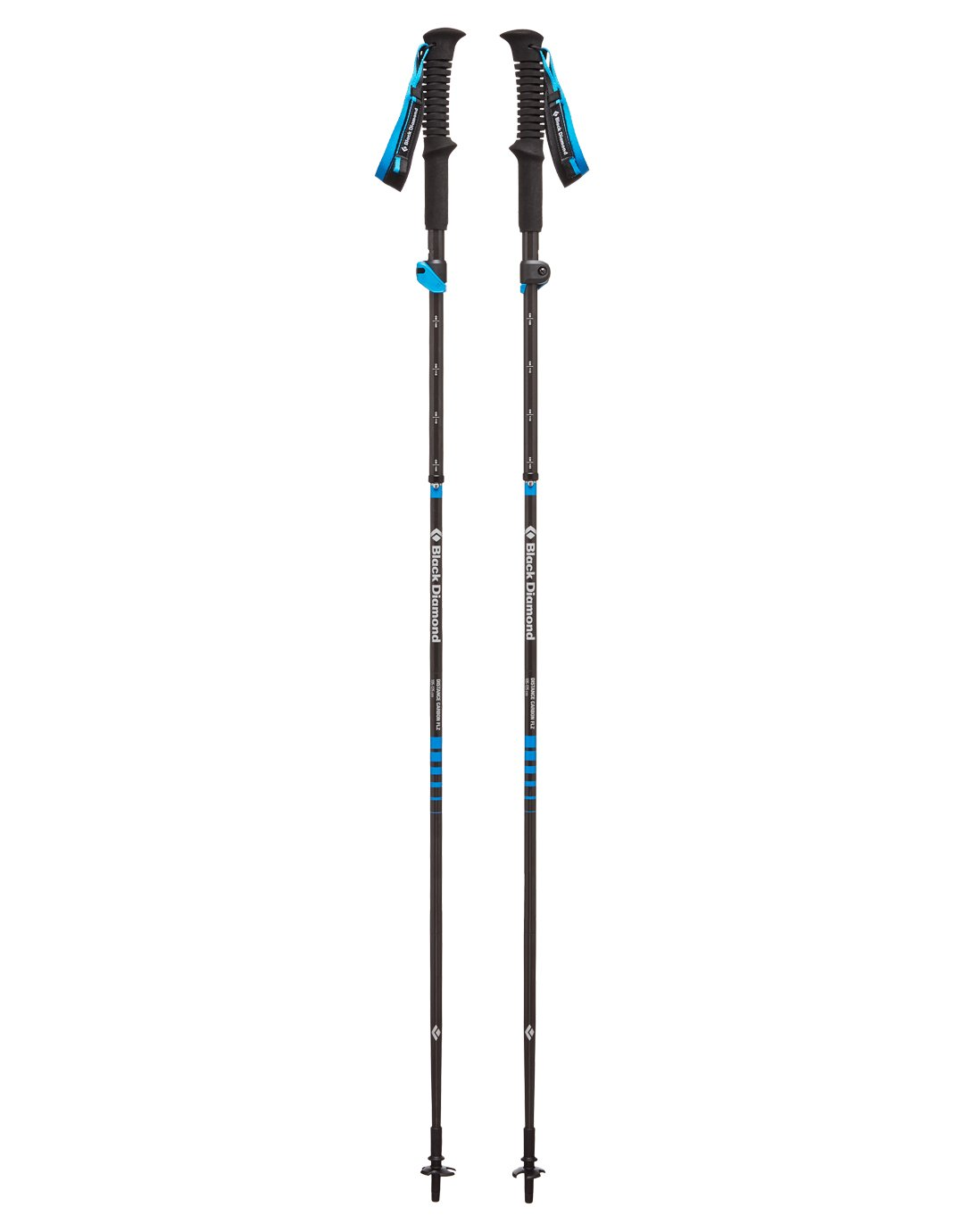 Distance Carbon FLZ Walking Poles - 95 to 110cm