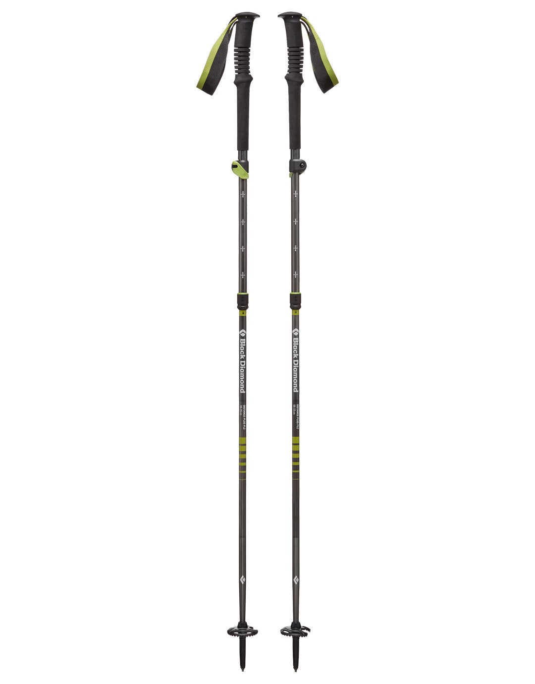 Distance Plus FLZ Walking Poles - Pair - 125cm