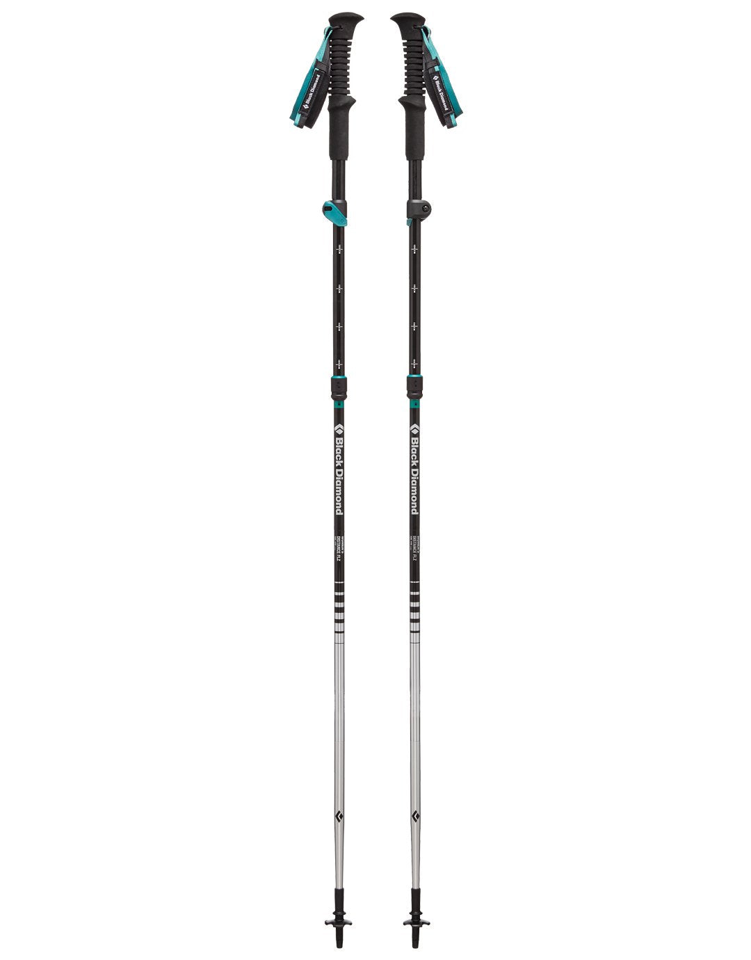 Womens Distance FLZ Walking Poles - Pair - 105-125cm