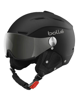 Bolle Backline Visor Helmet - Soft Black and Silver