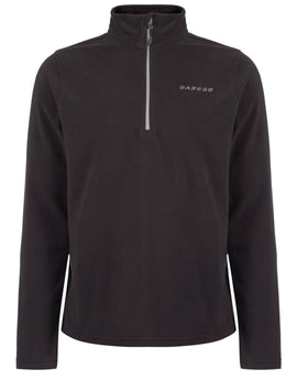 Dare2B Mens Freeze Dry II Fleece - Ebony Grey