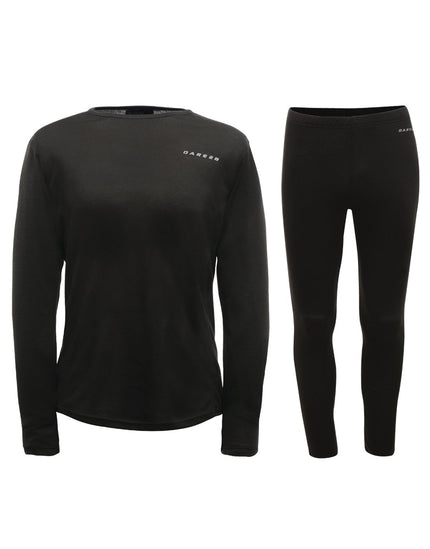 Dare2B Mens Insulate Base Layer Set - Black