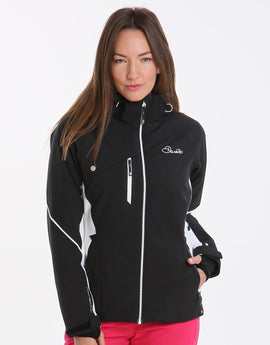 Dare2B Womens Etched Lines Jacket - Black