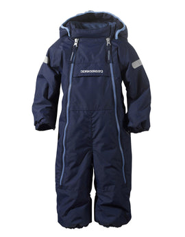Didriksons Baby Borga Coverall - Navy
