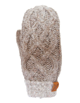 Extremities Ombre Donegal Mitt - Oatmeal
