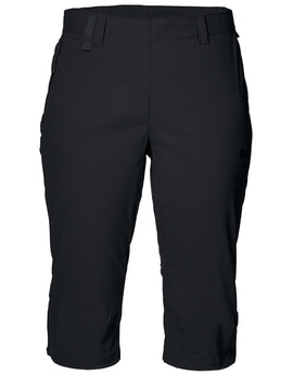 Jack Wolfskin Womens Activate Light Three Quarter Pants - Black