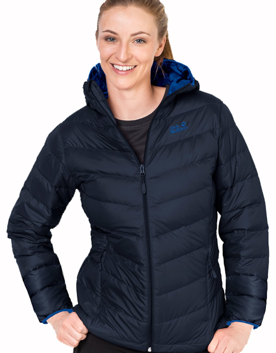 0d32f9ae5 Womens Helium Down Jacket - Midnight Blue