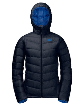 Jack Wolfskin Womens Helium Down Jacket - Midnight Blue