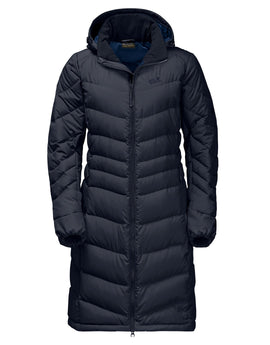 Jack Wolfskin Womens Selenium Down Coat - Midnight Blue