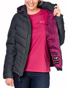 Jack Wolfskin Womens Selenium Down Jacket - Ebony