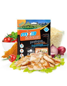 MX3 Adventure Chicken Korma and Rice Freeze Dry Meal Pouch