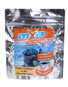 MX3 Adventure Chicken Tandoori and Rice Freeze Dry Meal Pouch