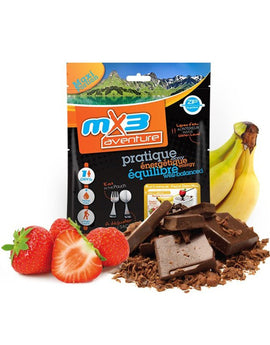 MX3 Adventure Chocolate Fondue with Fruit Freeze Dry Meal Pouch