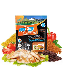 MX3 Adventure Indian Tabbouleh Freeze Dry Meal Pouch