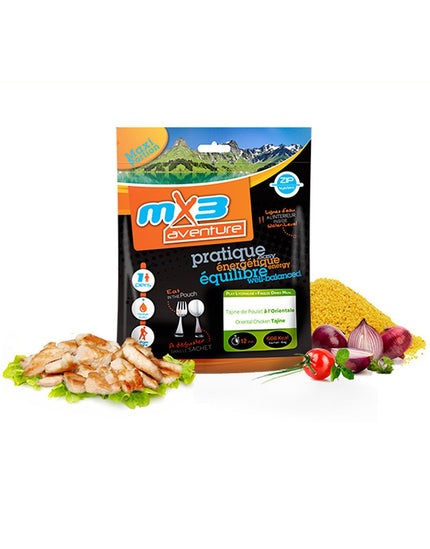 MX3 Adventure Oriental Chicken Tagine Freeze Dry Meal Pouch