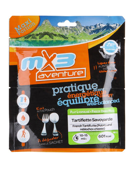 MX3 Adventure Tartiflette Savoyarde Freeze Dry Meal Pouch
