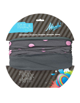 Manbi Adult Hula Arctic Pattern Neck Warmer - Rock Pale Pink
