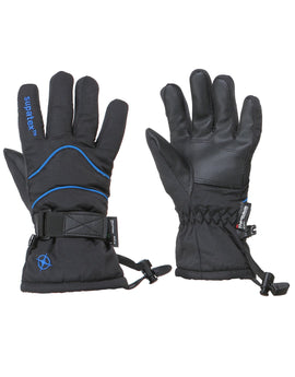 Manbi Kids Rocket Ski Glove - Black Navy