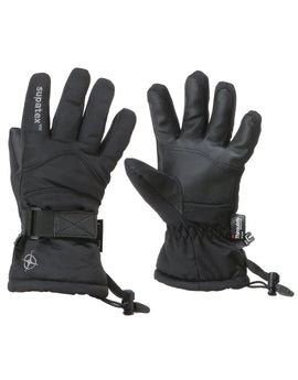 Manbi Kids Rocket Ski Glove - Black