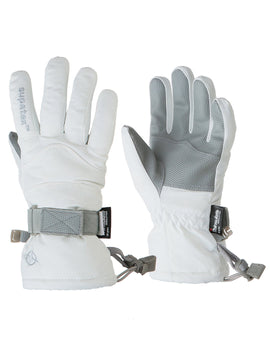Manbi Kids Rocket Ski Glove - White