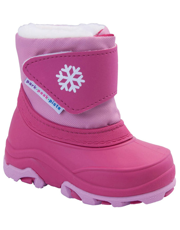 Manbi Toddlers Boing Snow Boots - Fuchsia