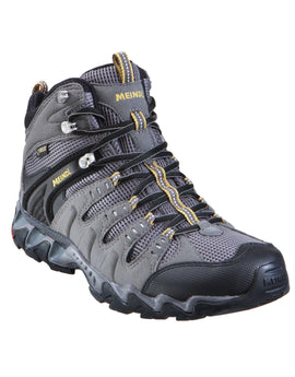 Meindl Mens Respond Mid GTX Hiking Boot - Anthracite and Maize