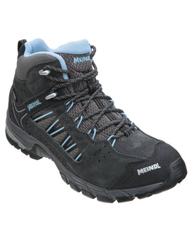 Meindl Womens Journey Lady Mid GTX Walking Boot - Anthracite Azure