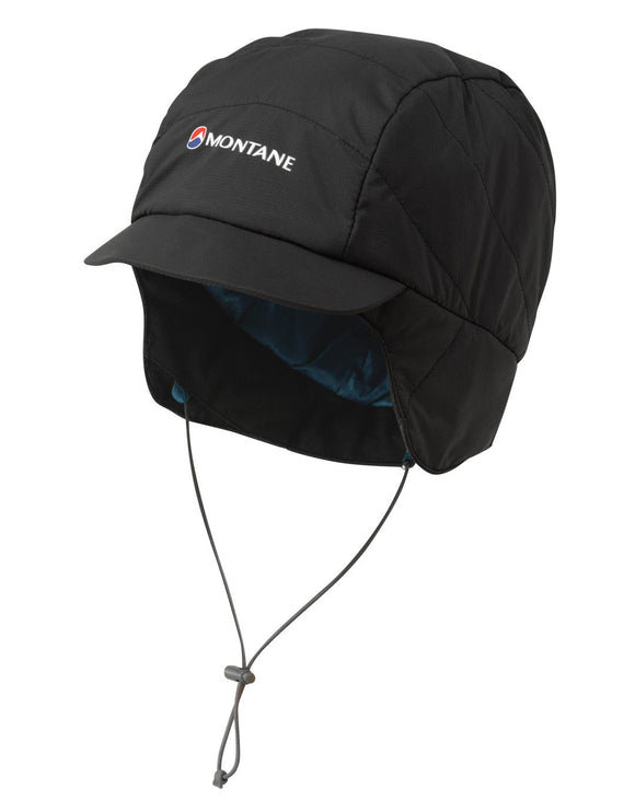 Montane Featherlite Mountain Cap - Black Zanskar Blue