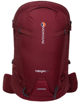 Montane Halogen 25 Rucksack - Redwood Shadow