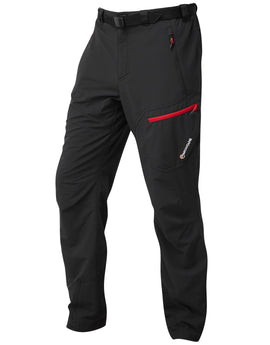Montane Mens Alpine Trek Pants Regular - Black