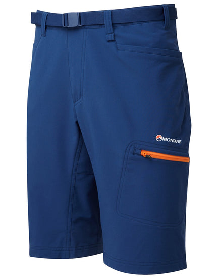 Montane Mens Dyno Stretch Shorts - Antarctic Blue