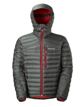 Montane Mens Featherlite Down Jacket - Shadow Alpine Red