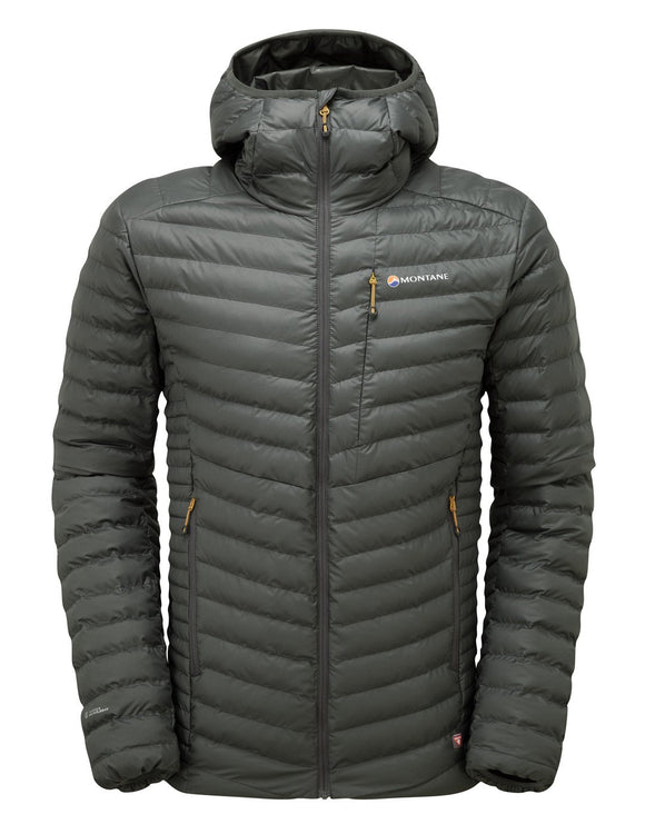 Montane Mens Icarus ThermoPlume Jacket - Shadow Inca Gold