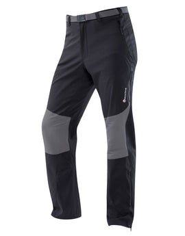 Montane Mens Terra Stretch Pants - Black Regular Leg