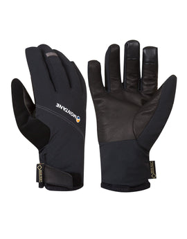 Montane Mens Tornado Glove - Black Mercury