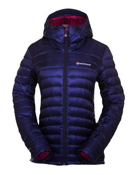 Montane Womens Featherlite Down Jacket - Antarctic Blue