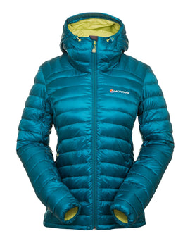 Montane Womens Featherlite Down Jacket - Zanskar Blue