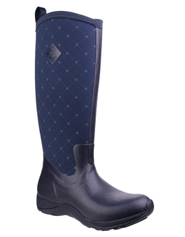 Muck Boot Company Womens Arctic Adventure Wellington Boot - Navy Castlerock