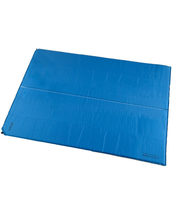 Multimat Camper Double 25 Self Inflating Mat - Blue Charcoal