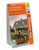 Ordnance Survey Explorer The Cotswolds Map
