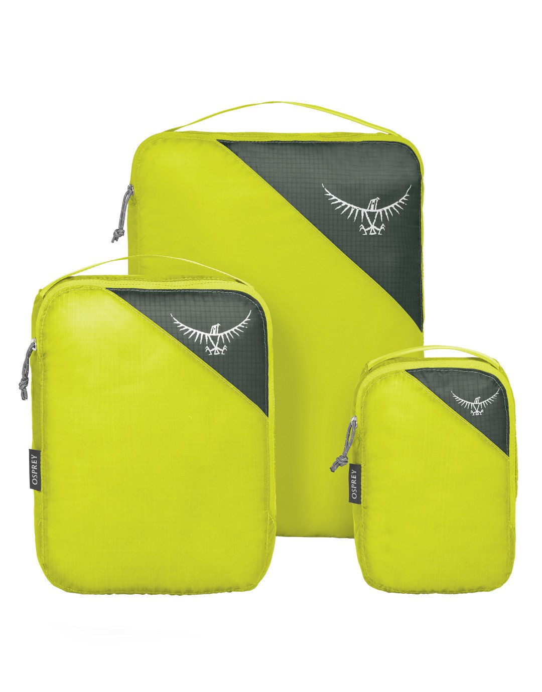 Ultralight Packing Cube Set - Electric Lime