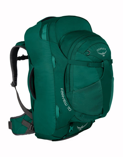 Osprey Womens Fairview 70 Travel Bag - Rainforest Green